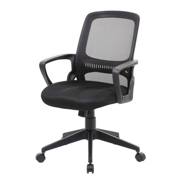 Boss 25-Inch Black Mesh Task Chair, image 2