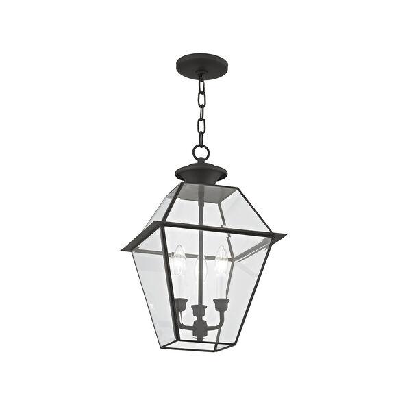 Westover Black Three-Light Outdoor Chain Hang, image 4