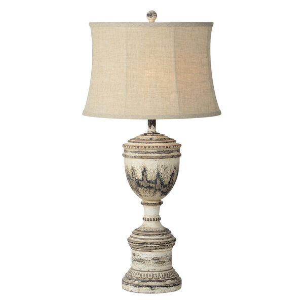 Denver Weathered Brown One-Light 34-Inch Table Lamp Set of Two, image 1