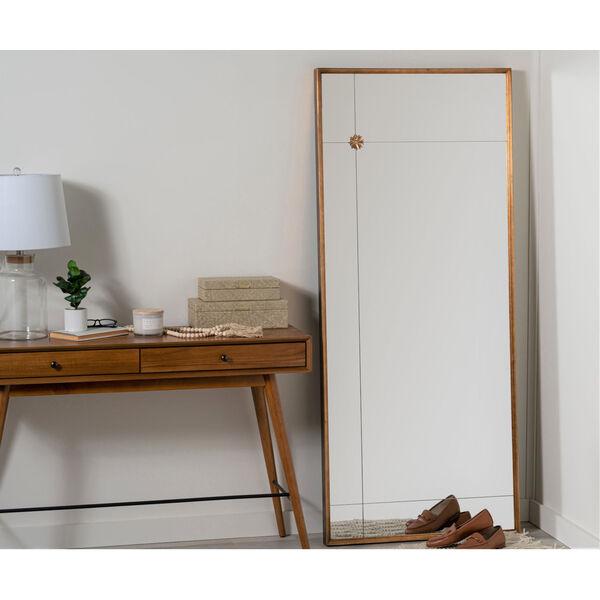 Pamela Antique Gold 71-Inch x 30-Inch Floor Mirror, image 6