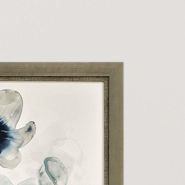 Midnight Blossom I Blue Framed Art, Set of Two, image 3