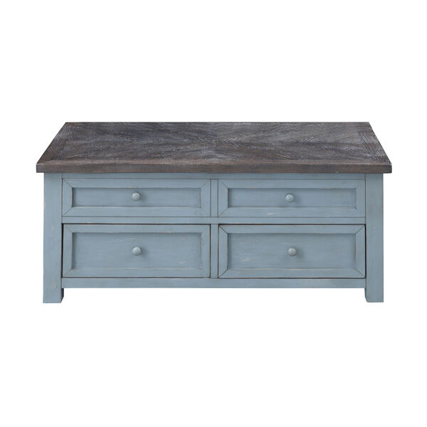 Bar Harbor Blue 46-Inch Cocktail Table, image 2