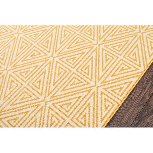 Baja Diamonds Yellow Indoor/Outdoor Rug, image 3