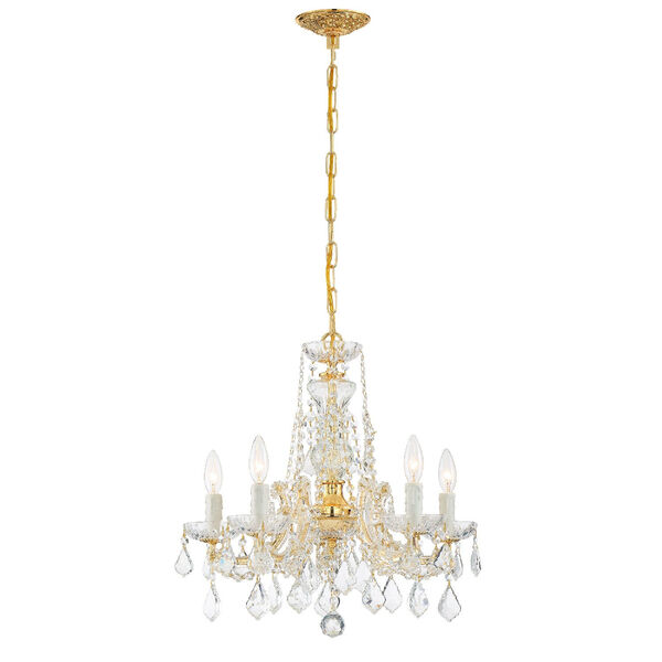 Maria Theresa Tall Five-Light Crystal Chandelier, image 2