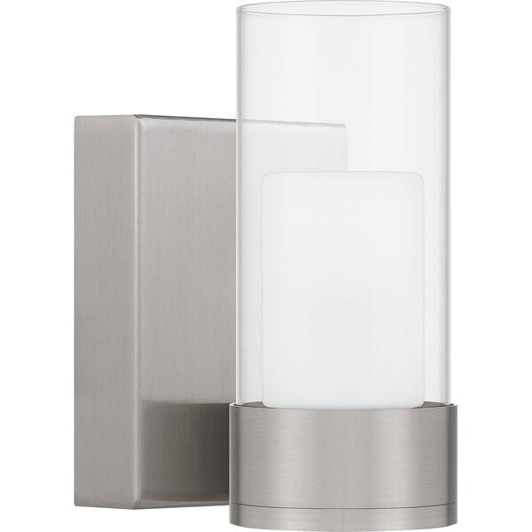 Logan Brushed Nickel LED Wall Sconce, image 2