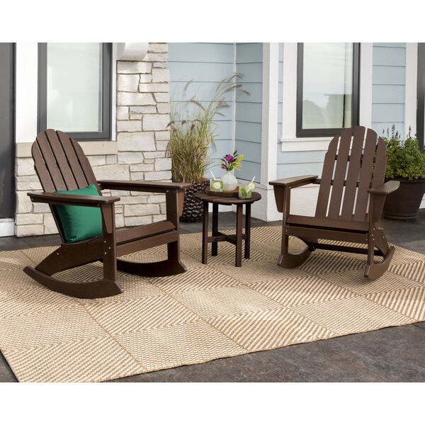 Vineyard White Adirondack Rocking Chair Set, 3-Piece, image 2