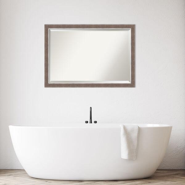 Noble Mocha 40W X 28H-Inch Bathroom Vanity Wall Mirror, image 3