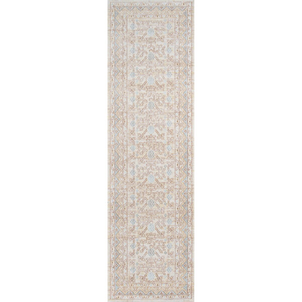 Isabella Oriental Blue Rectangular: 9 Ft. 3 In. x 11 Ft. 10 In. Rug, image 5