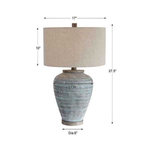 Pelia Aqua Blue Table Lamp, image 6