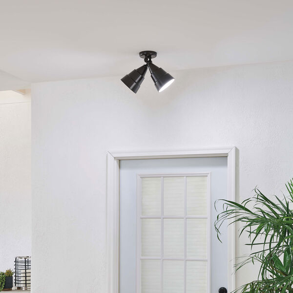 Architectural Two-Light Wall/Ceiling Fixture, image 2
