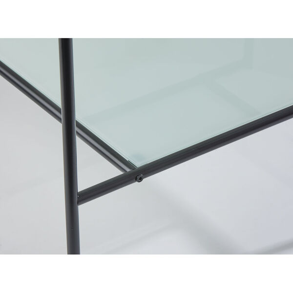 Stephen Black and White Two-Tiered Coffee Table, image 6