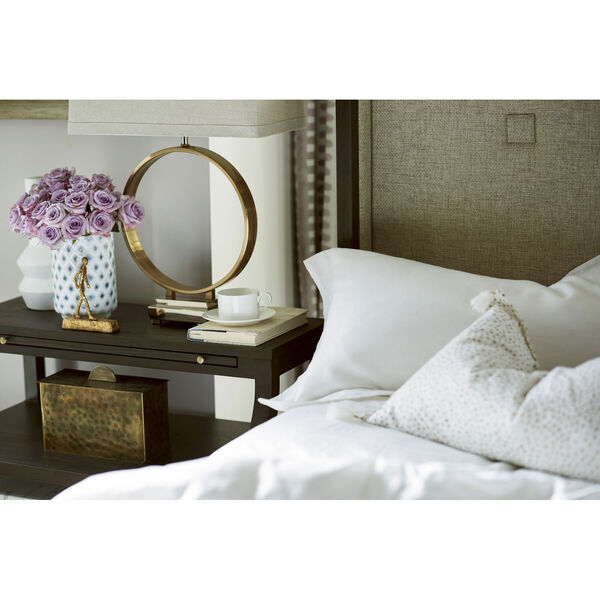 Soliloquy Cocoa Bedside Table, image 3