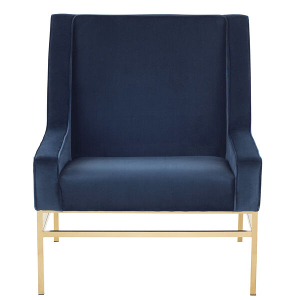 Theodore Peacock and Gold Occasional Chair, image 6
