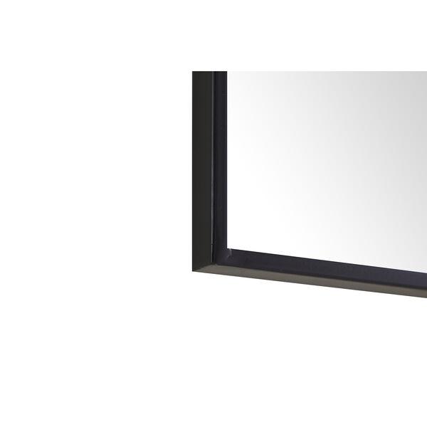 Eternity Black 24-Inch Mirror, image 3