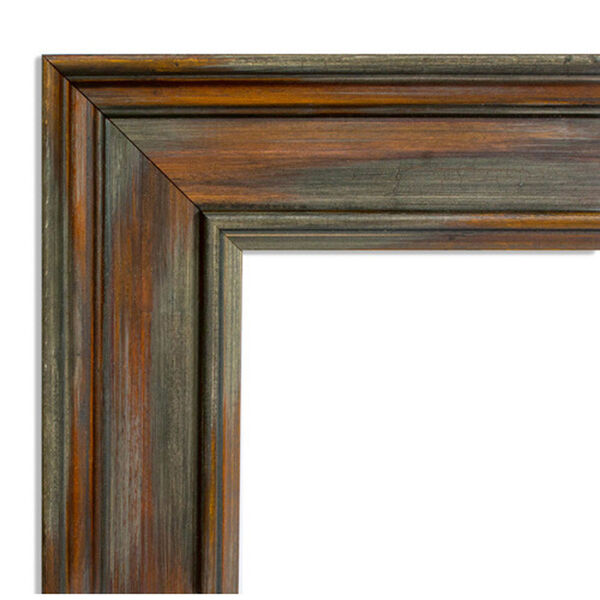 Alexandria Rustic Brown 30-Inch Floor Mirror, image 3