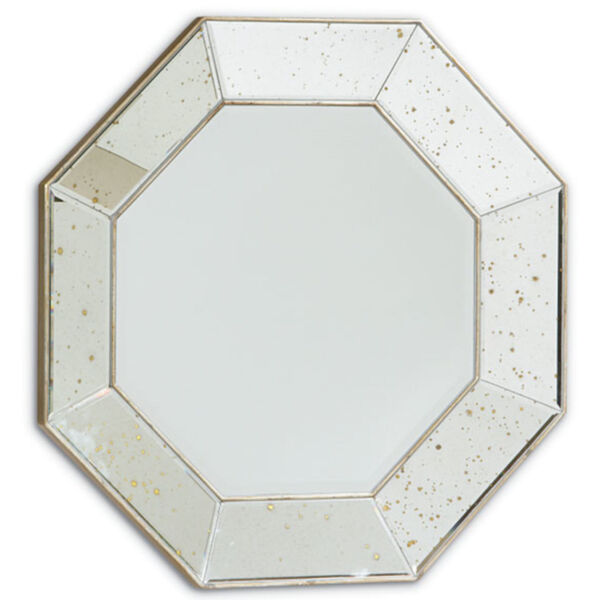 Classic Transparent Looking Glass Wall Mirror, image 2