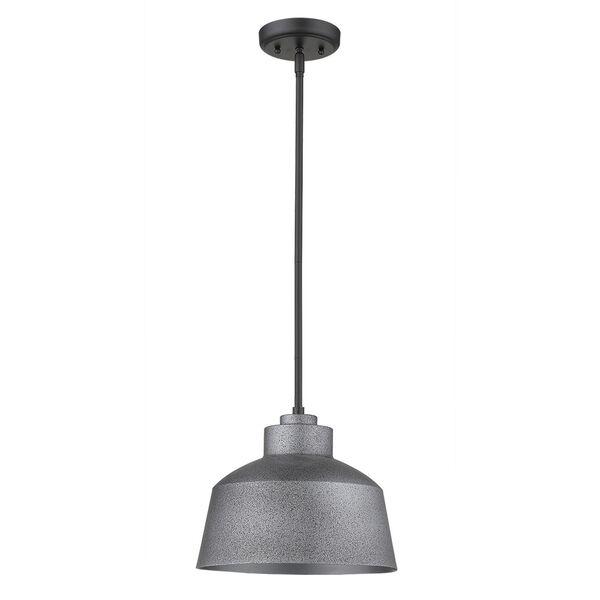 Barnes Gray One-Light Outdoor Convertible Pendant, image 1