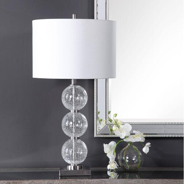 Vivian Brushed Nickel 29-Inch One-Light Table Lamp, image 3