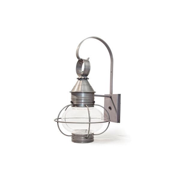Medium Dark Brass Caged Onion Outdoor Wall Mount Lantern, image 1