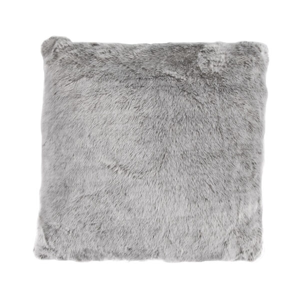 Arctic Bear Gray 22 In. X 22 In. Throw Pillow, image 1