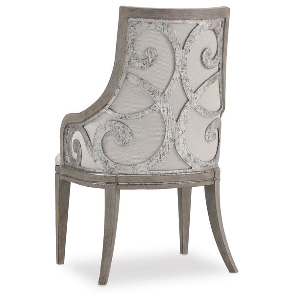 Sanctuary Upholstered Arm Chair, image 1