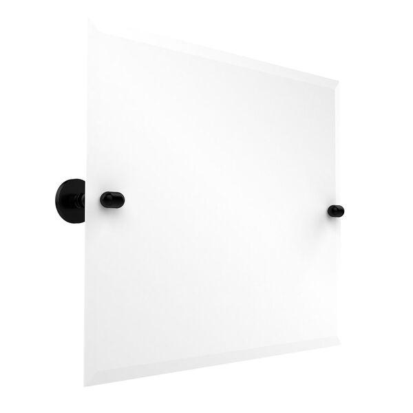 Frameless Landscape Rectangular Tilt Mirror with Beveled Edge, image 1