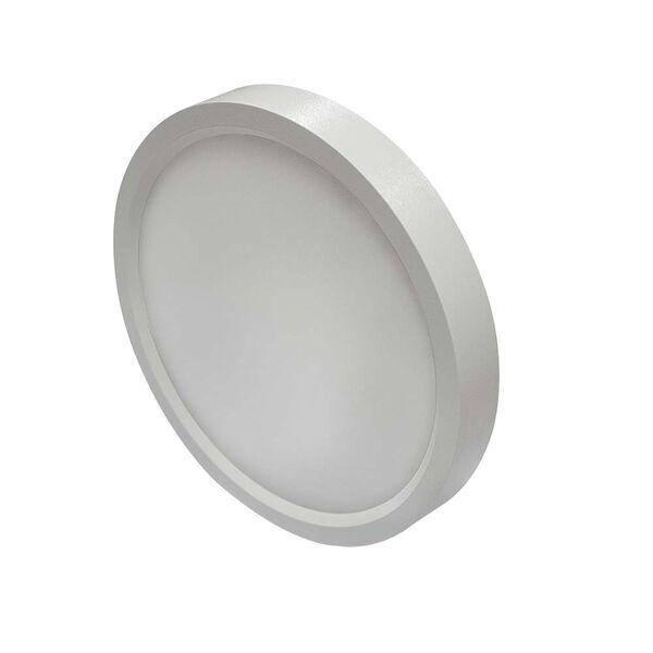 White 7-Inch 3000K LED Recessed Disk Light, image 2