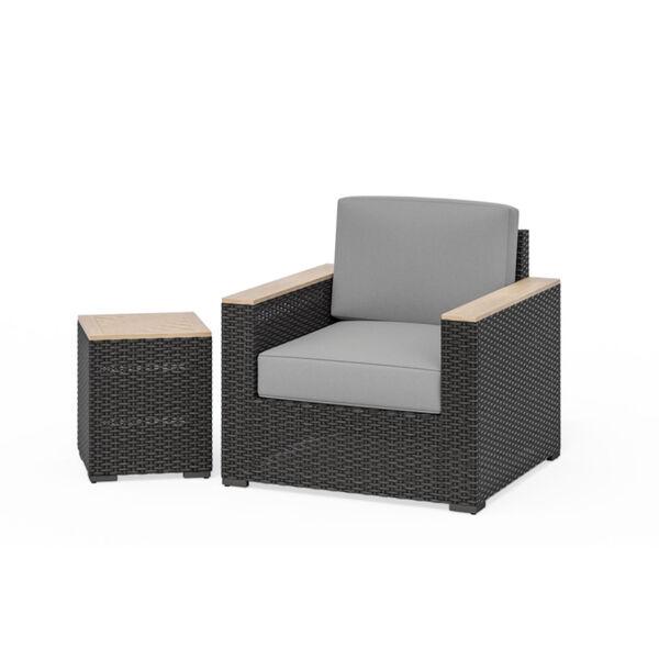 Boca Raton Brown Two-Piece Patio Furniture Set, image 1