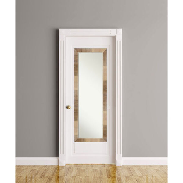 Brown 18-Inch Full Length Mirror, image 5