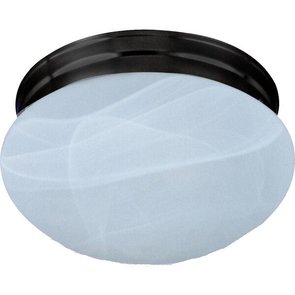 Essentials Oil Rubbed Bronze One-Light Flush Mount, image 1