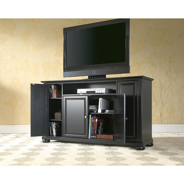 Alexandria 60-Inch TV Stand in Black Finish, image 4