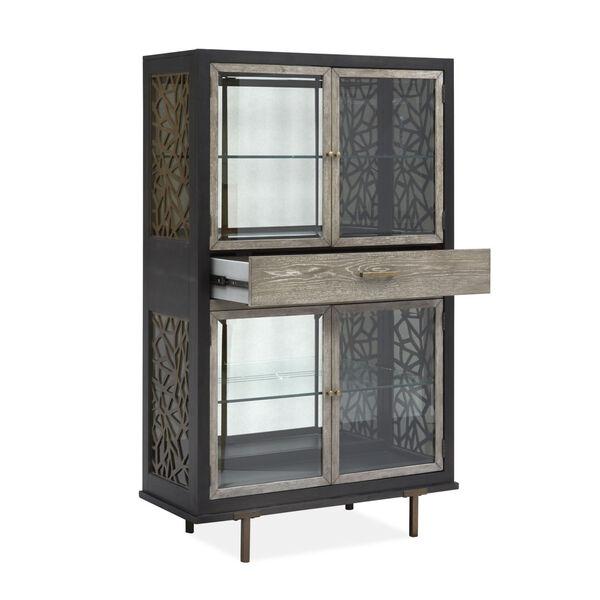 Ryker Black Display Cabinet, image 2