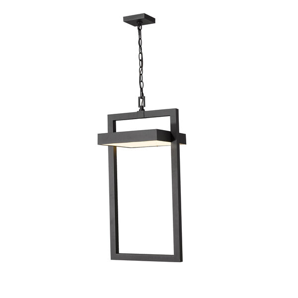 Luttrel Black One-Light LED Outdoor Pendant, image 5