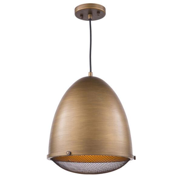 Retro Loft Bronze 13-Inch One-Light Pendant, image 1