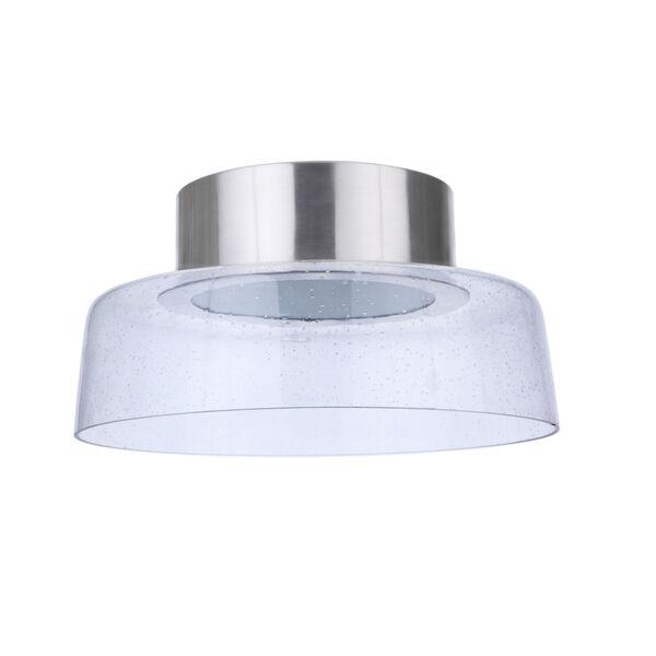 Centric Brushed Polished Nickel 11-Inch LED Flushmount, image 4