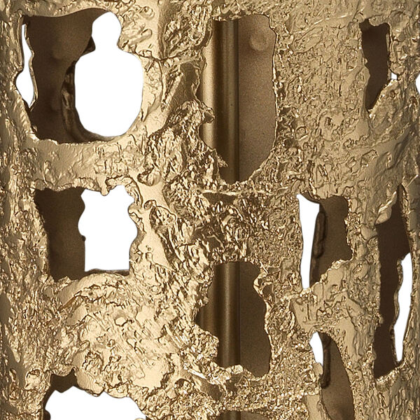 Firenze Antique Gold and White One-Light Table Lamp, image 2