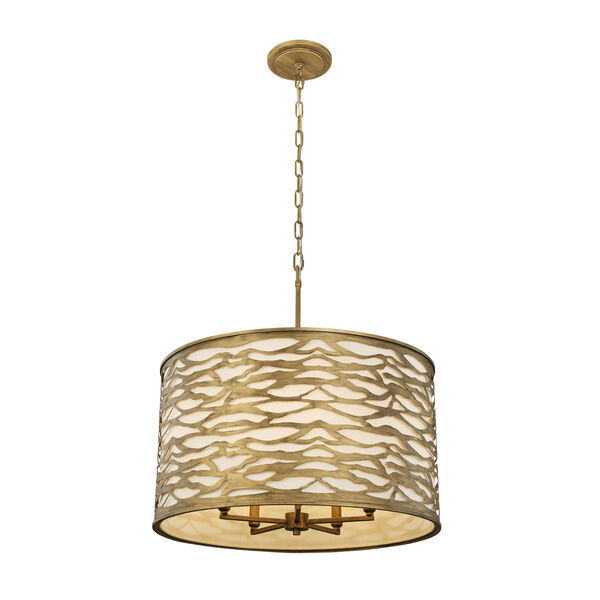 Kato Havana Gold Five-Light Pendant, image 1