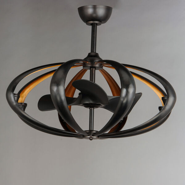Ambience Bronze and Gold Eight-Light LED Fandelight, image 4