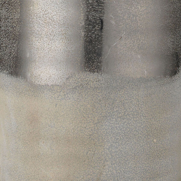 Cora Silvered Taupe and Off White One-Light Table Lamp, image 2