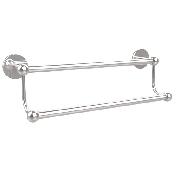 Polished Chrome 18-Inch Double Towel Bar, image 1