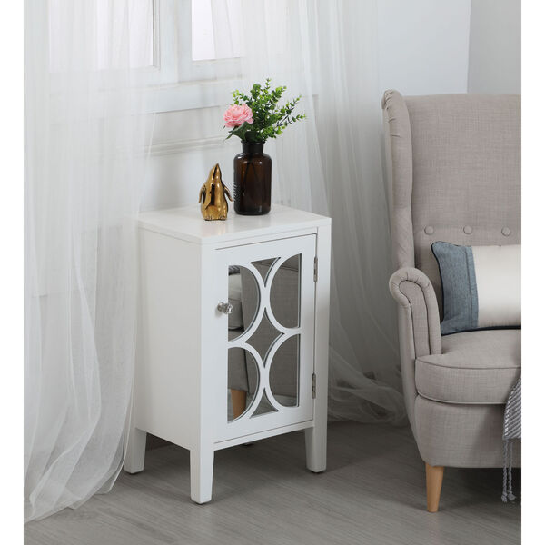 Modern White 18-Inch Cabinet, image 4