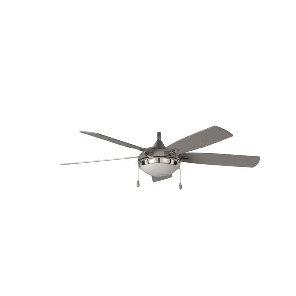 Lun-Aire Brushed Nickel LED Ceiling Fan, image 3