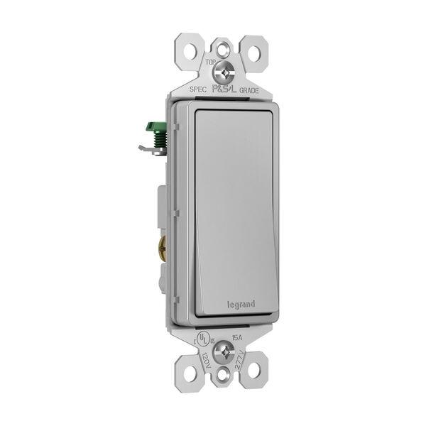 Gray 15A 3-Way Switch, image 2