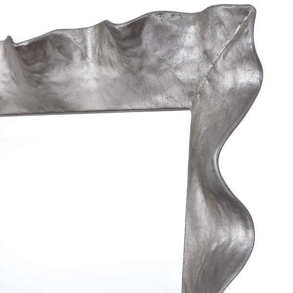 Haya Silver Leaf Vanity Mirror, image 4