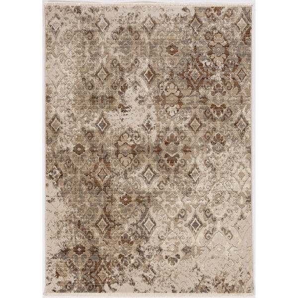 Westerly Illusions Sand Rectangular: 8 Ft. x 10 Ft. Area Rug, image 1