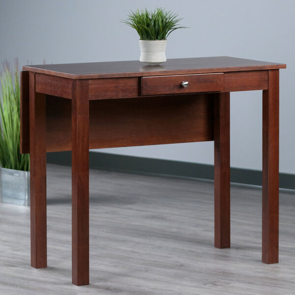 Perrone Walnut High Table with Drop Leaf, image 2