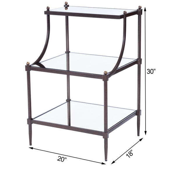 Metalworks Tiered Side Table, image 12