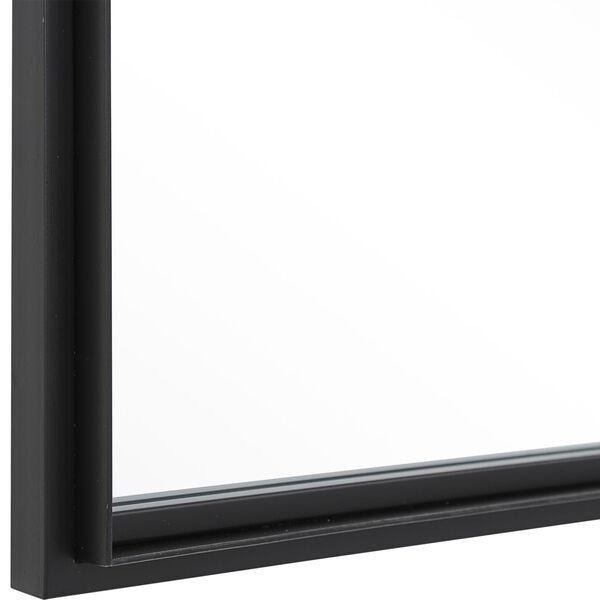 Rousseau Black Iron Window Mirror, image 5