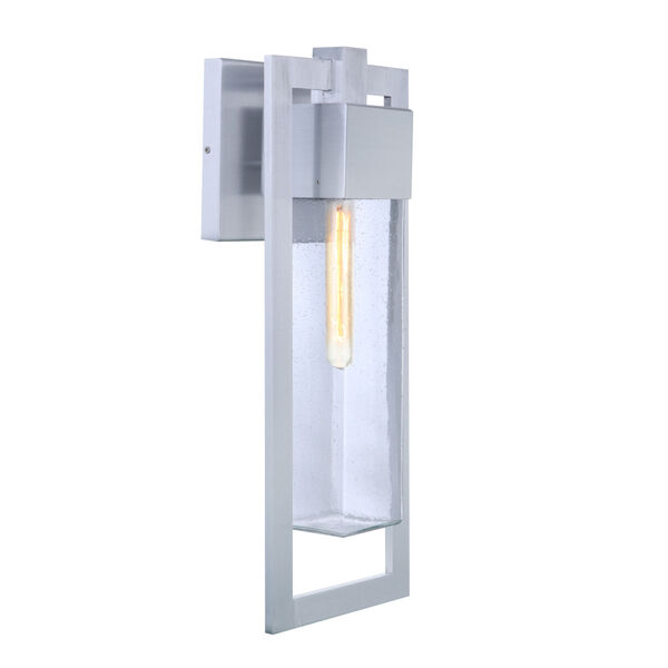 Perimeter Satin Aluminum 22-Inch One-Light Outdoor Wall Sconce, image 2