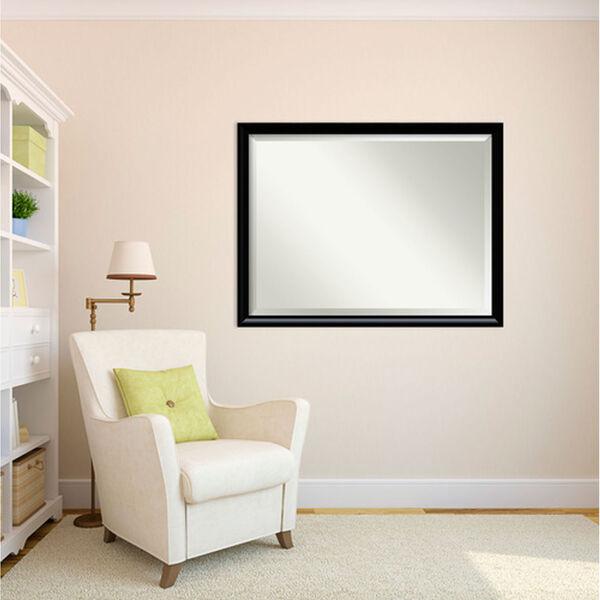 Steinway Black Scoop 33 x 43 In. Wall Mirror, image 4